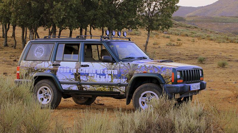 Rutas en 4x4 en Sierra de Gata con A Fala Ocio