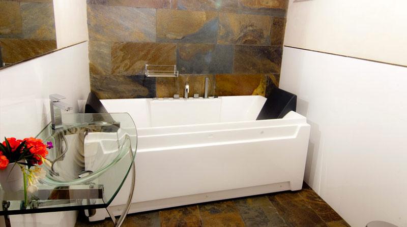 bañera con spa