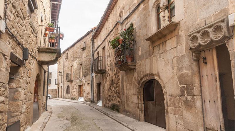 Calle en Sierra de Gata