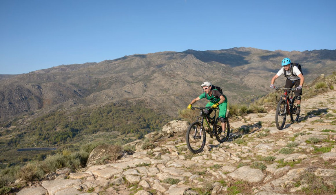 Rutas BTT en Sierra de Gata