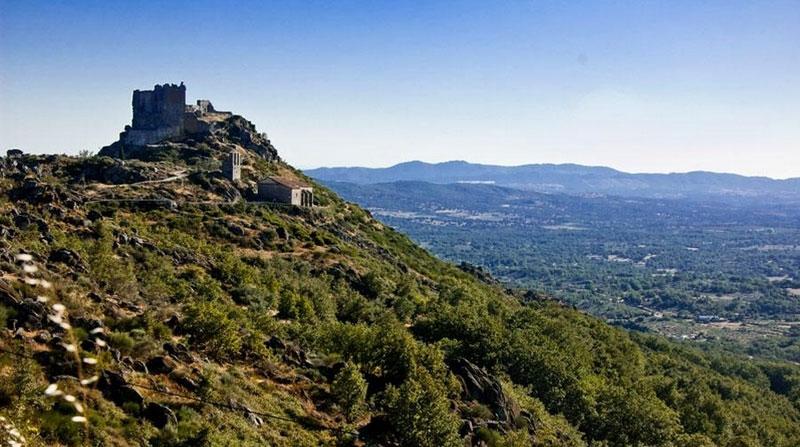 Castillo en Sierra de Gata